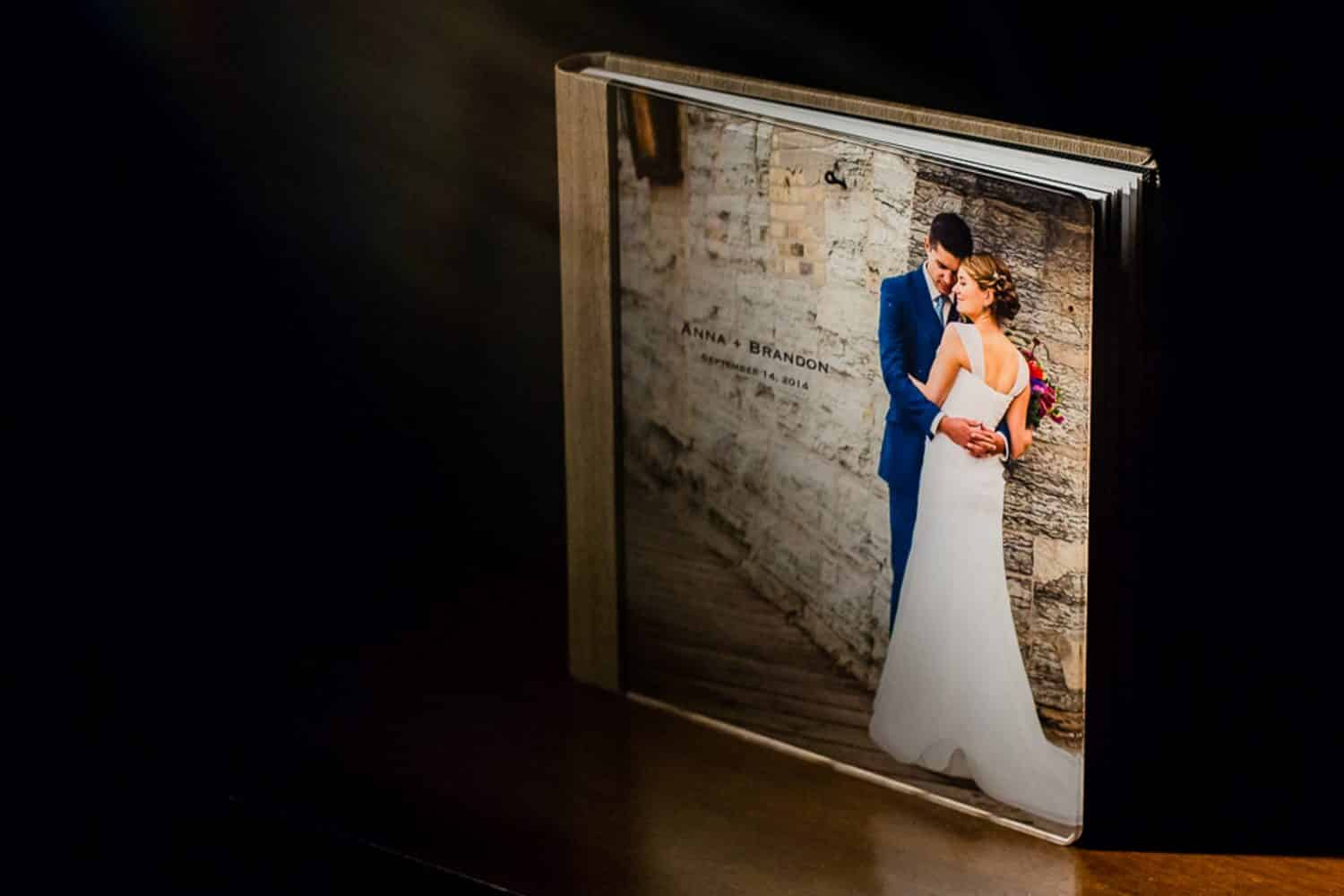Minneapolis Wedding Photo Albums