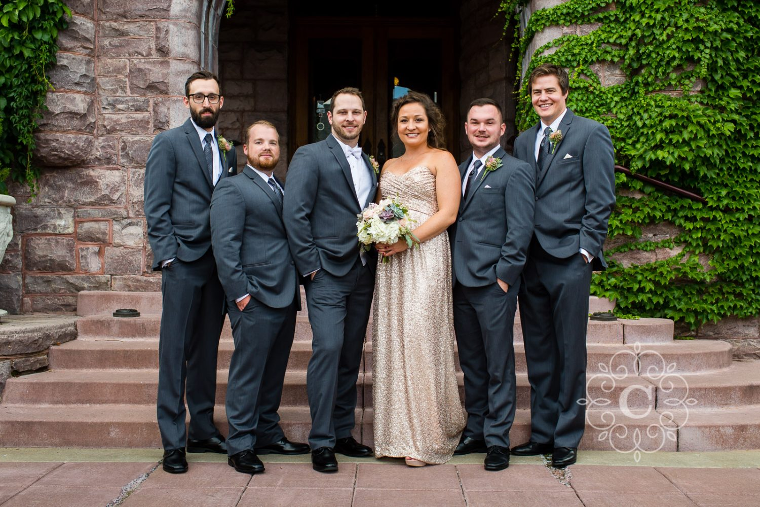 Van Dusen Mansion Wedding by Minneapolis Wedding Photographer Carina Photographics