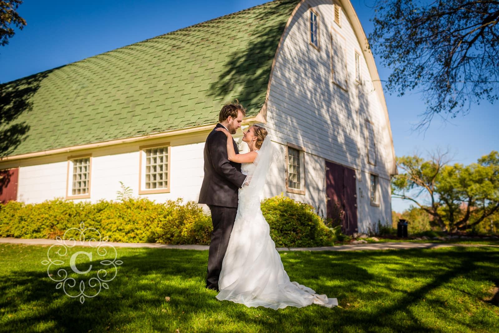 MN Barn Wedding Photo