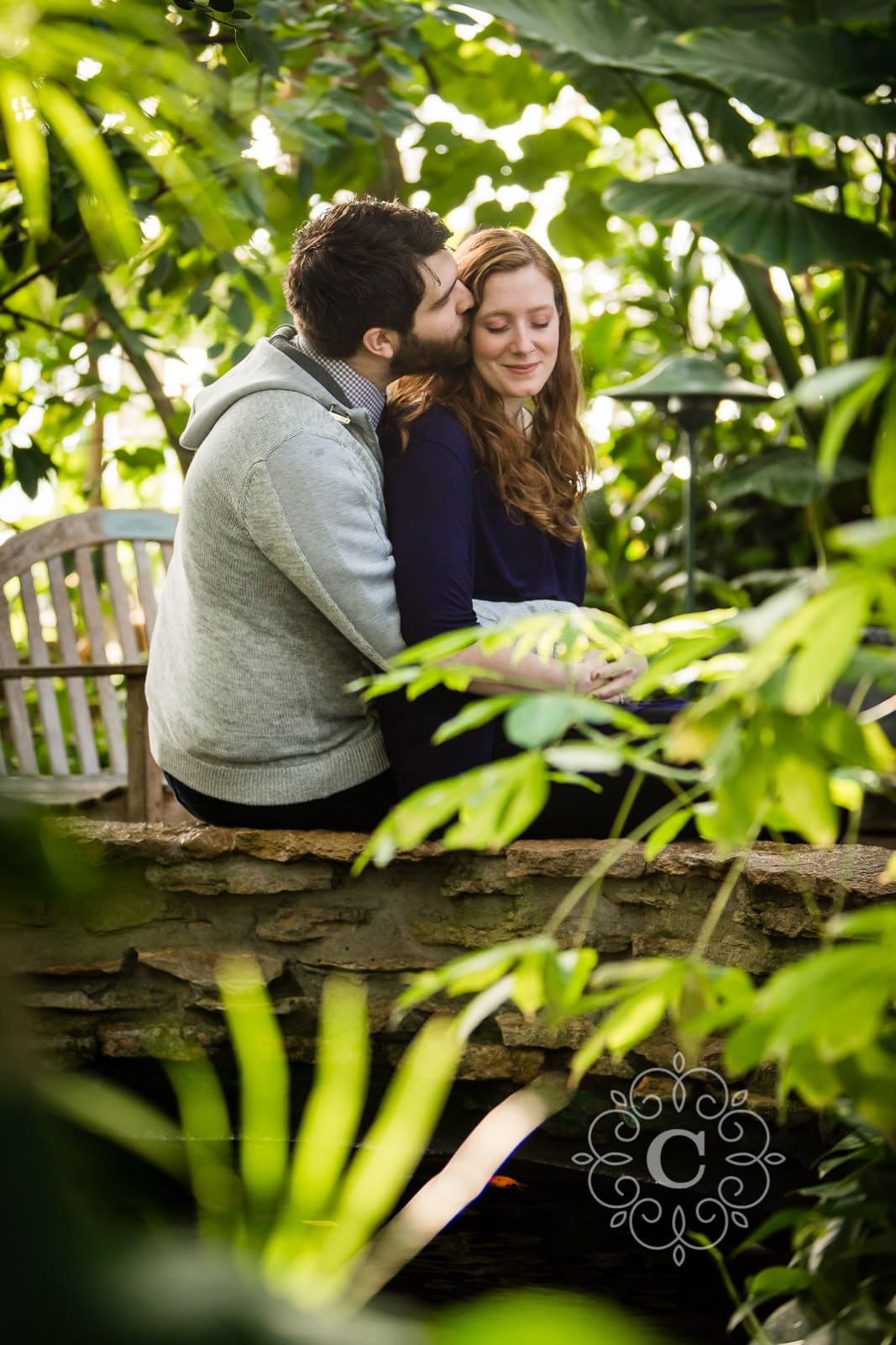 Como Park St Paul MN Engagement Session