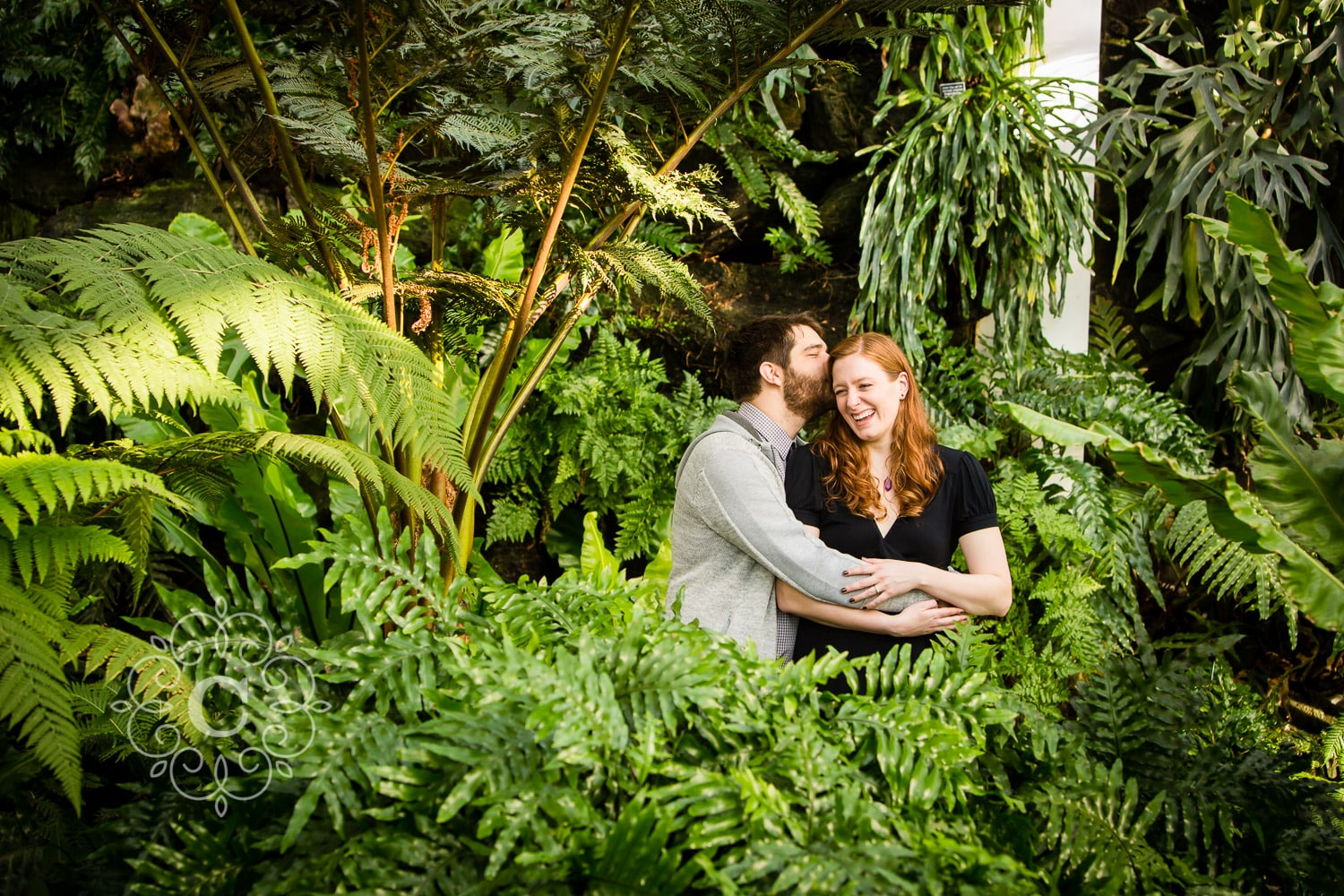 Marjorie McNeely Conservatory Wedding Photo