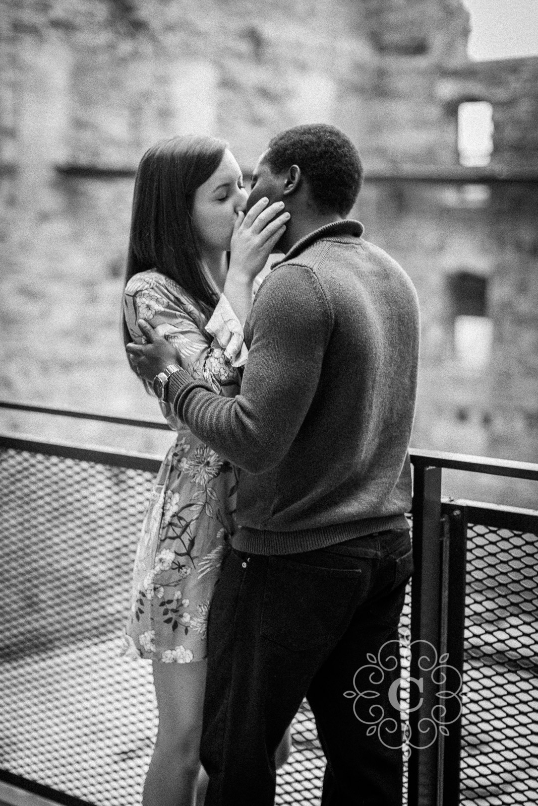 Mill City Museum MN Engagement Photos