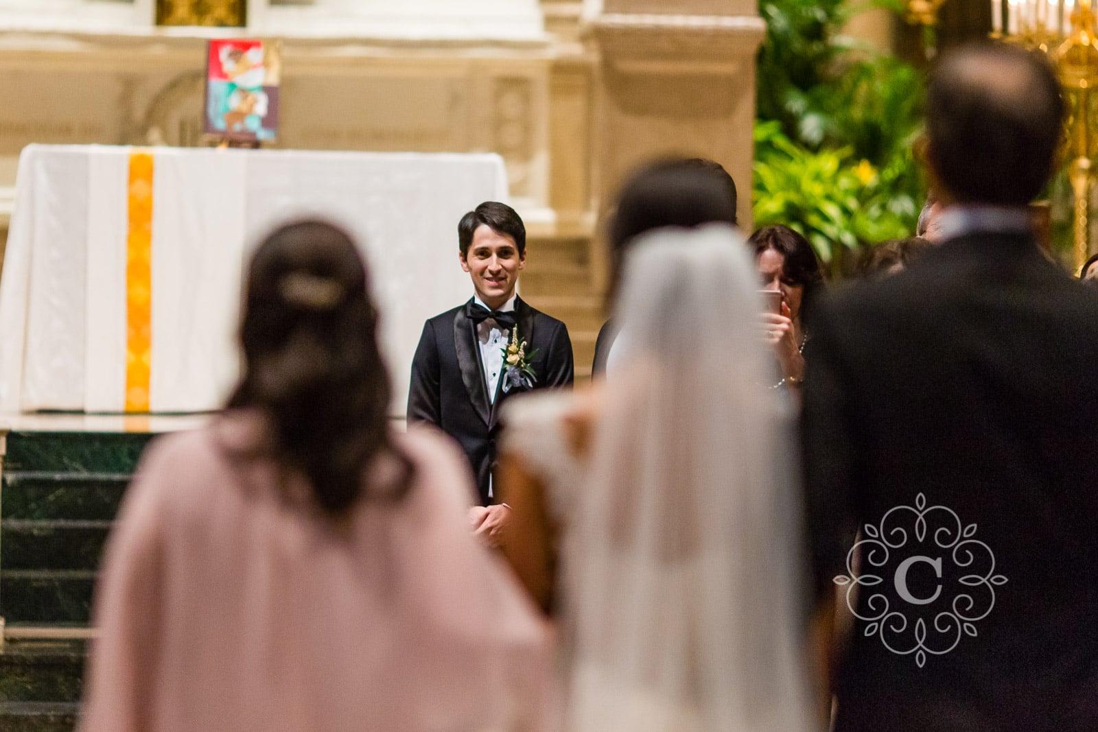 Basilica St Mary Wedding Photo