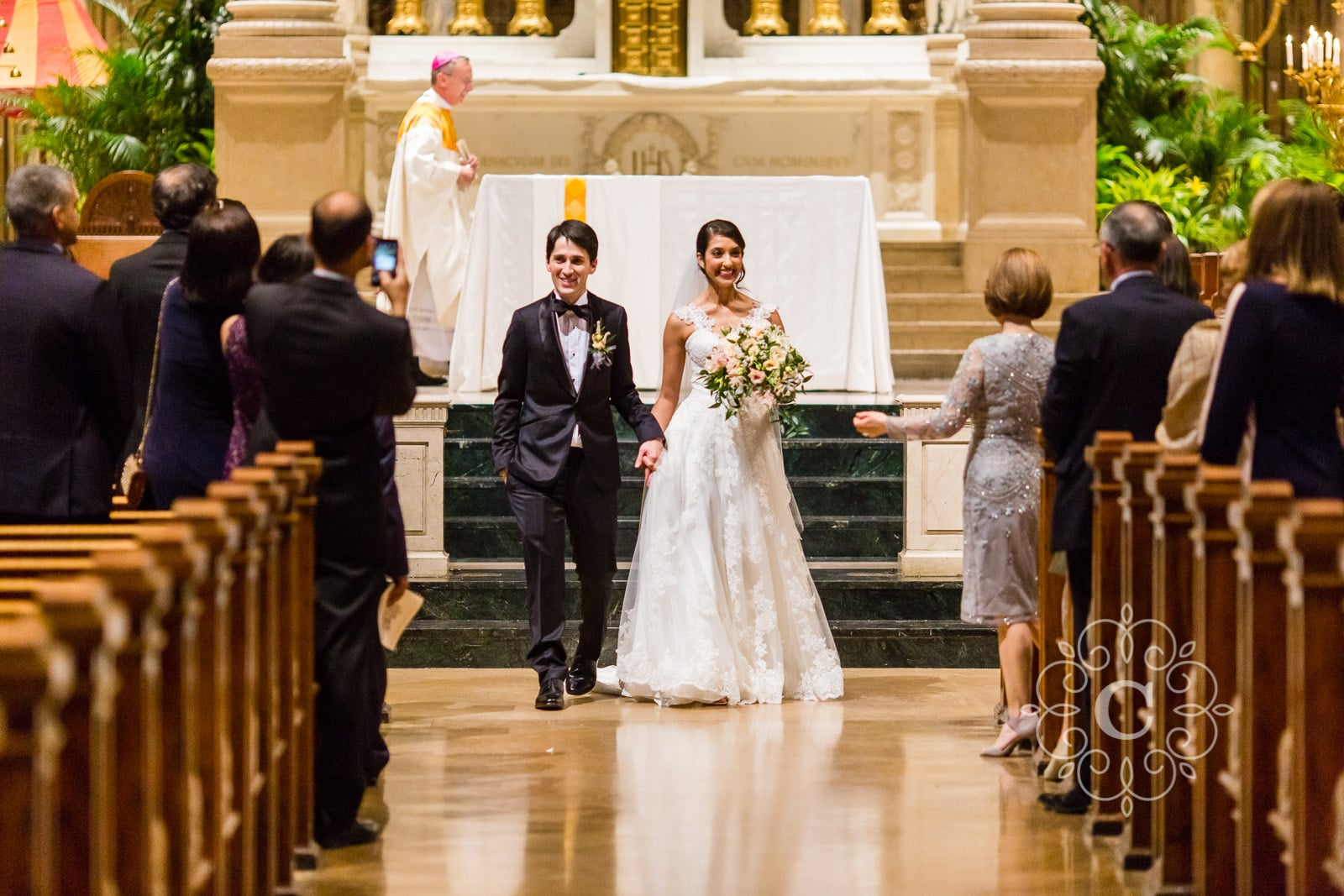 Basilica St Mary Wedding Photo