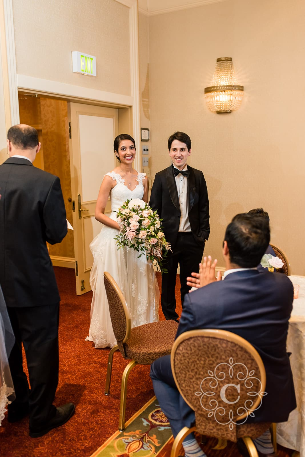 St Paul Hotel Wedding Photo