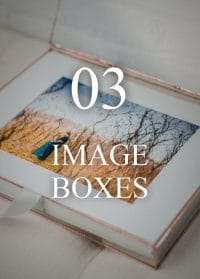 Elegant Heirloom Photo Boxes