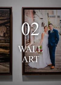 Wedding Photography Heirloom Wall Art