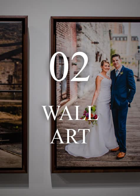 Carina Photographics Wedding Photography Heirloom Wall Art