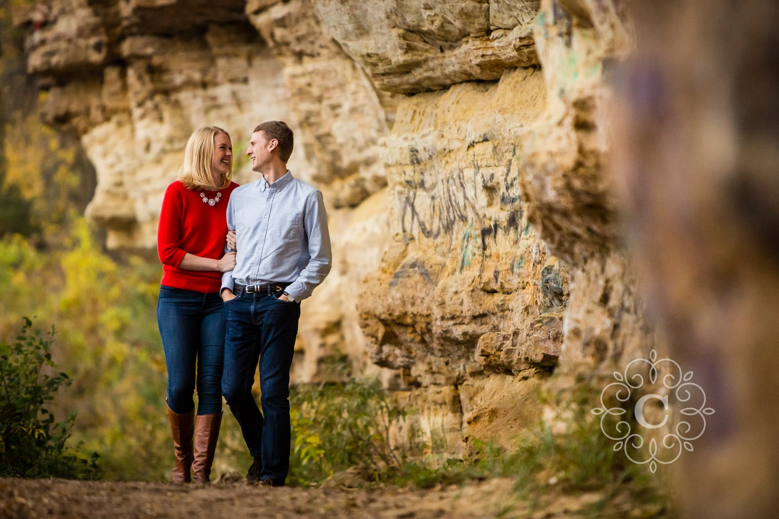 St Croix Stillwater MN Engagement Photo