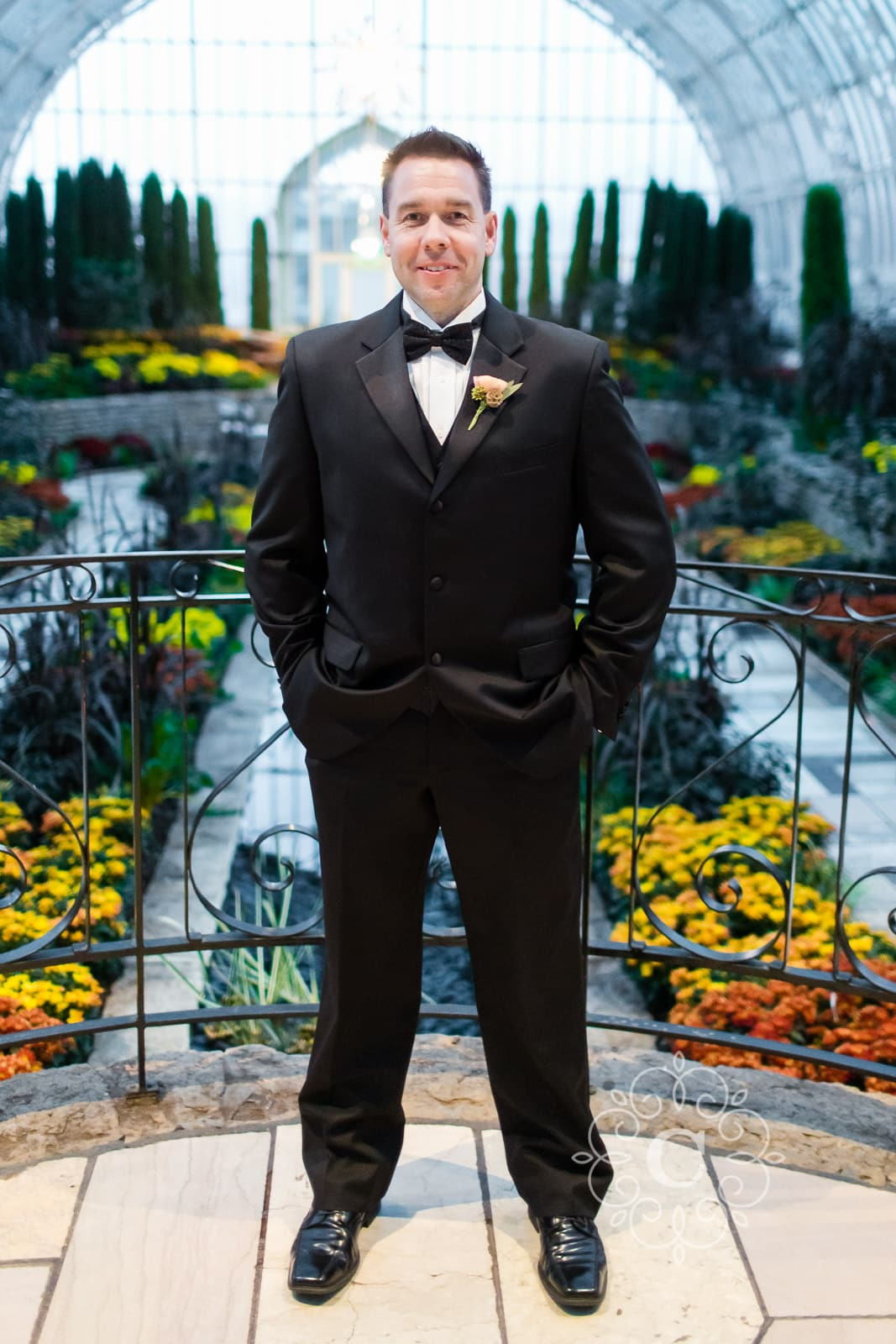 Como Park Marjorie McNeeley Conservatory Wedding