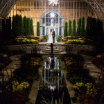 Como Sunken Garden Wedding Photo