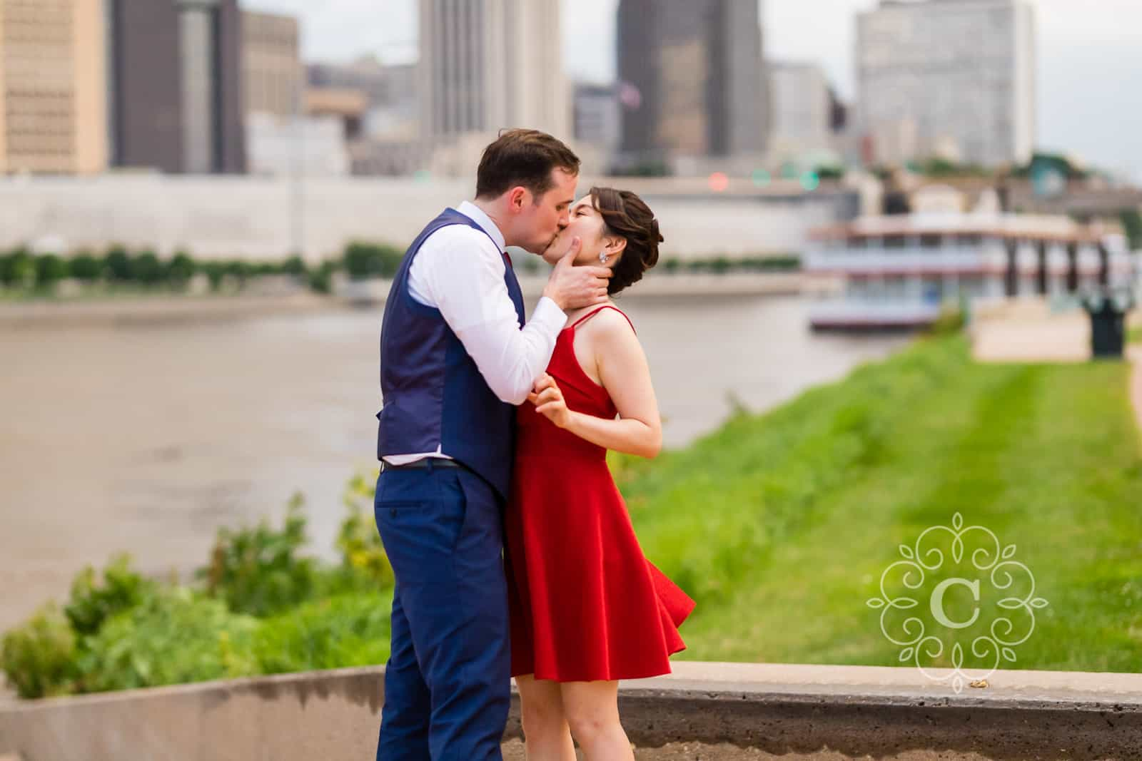 Harriet Island Pavilion St Paul MN Wedding
