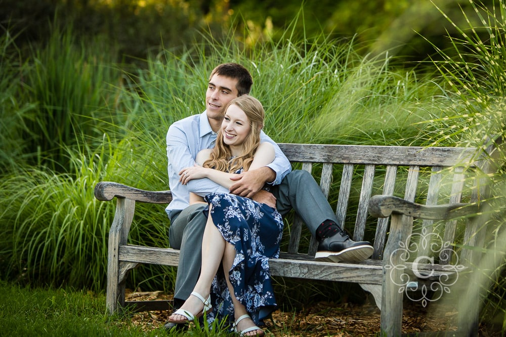 U of MN Landscape Arboretum Engagement Photography