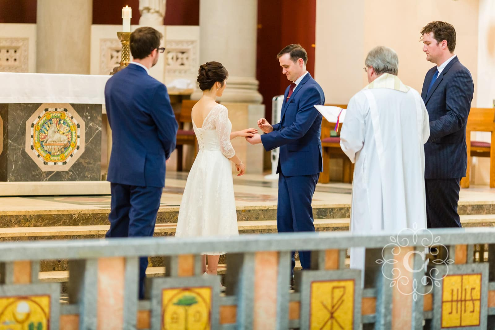 Saint Thomas More Church Wedding Photo