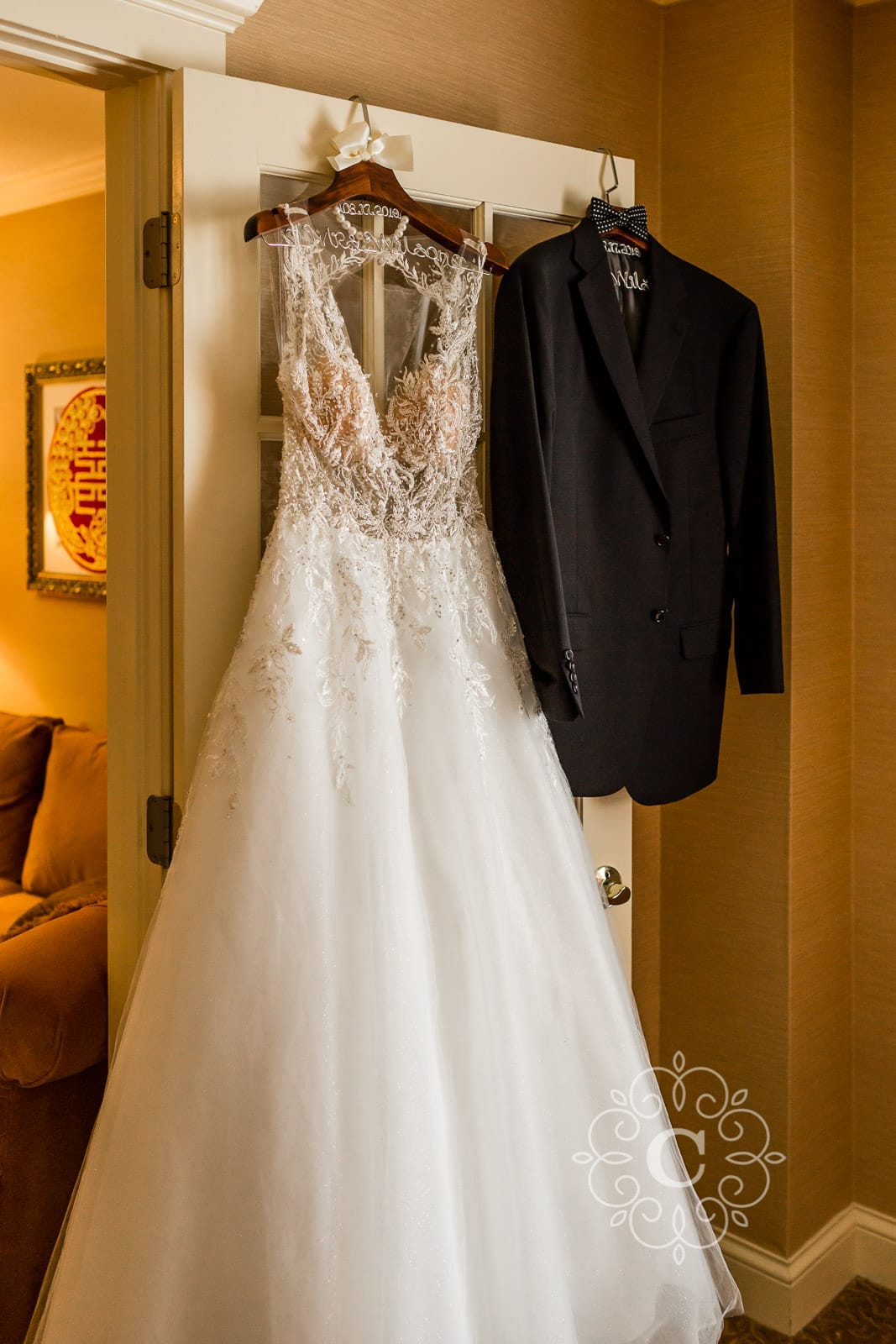 Saint Paul Hotel Wedding Photo