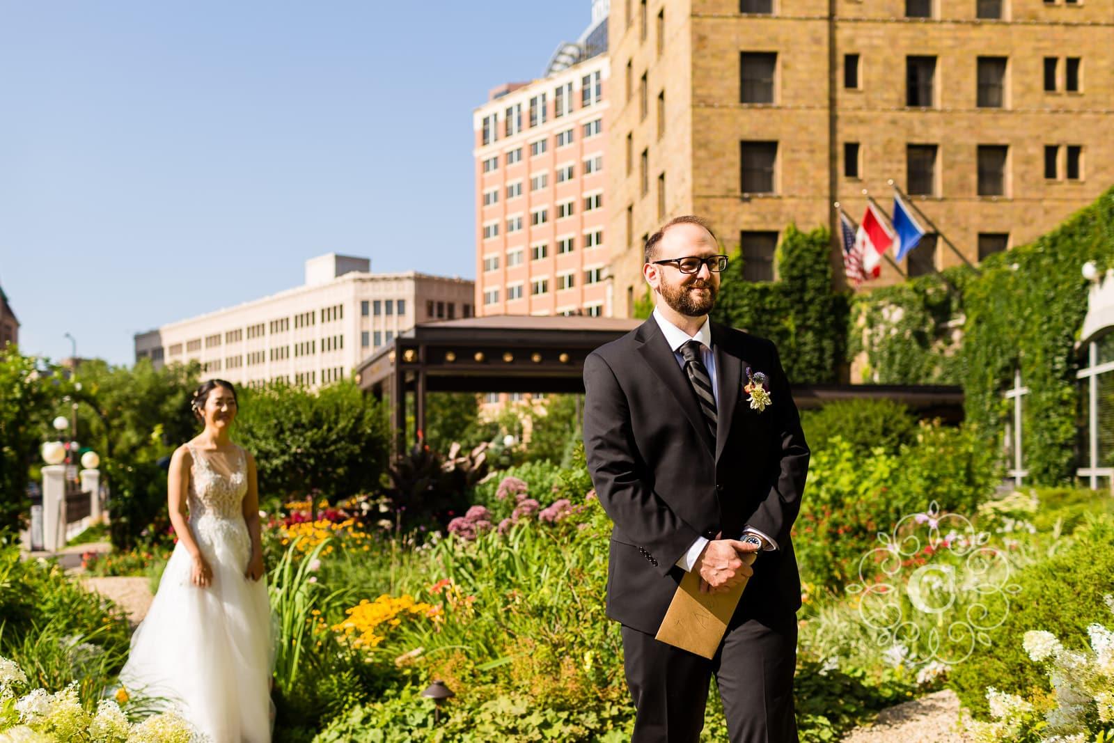 Saint Paul Hotel Wedding Photo