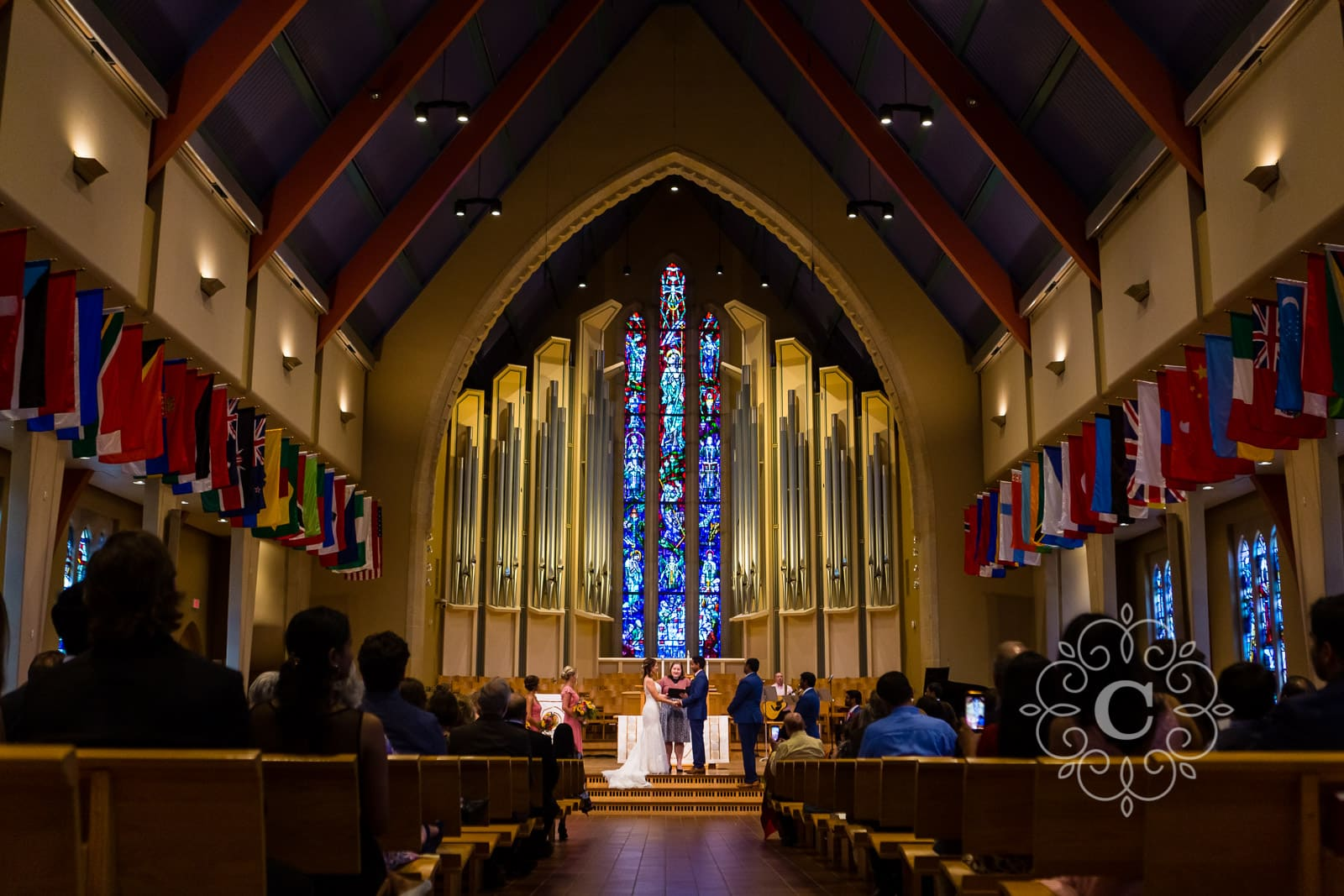 Boe Chapel St Olaf College Northfield MN Wedding