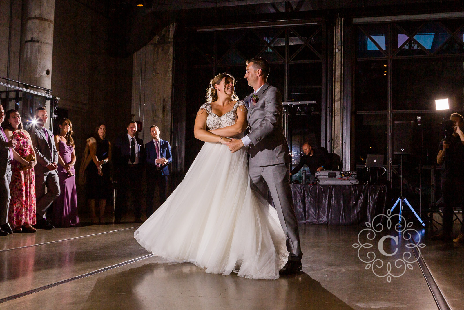 Mill City Museum Minneapolis Wedding Photo