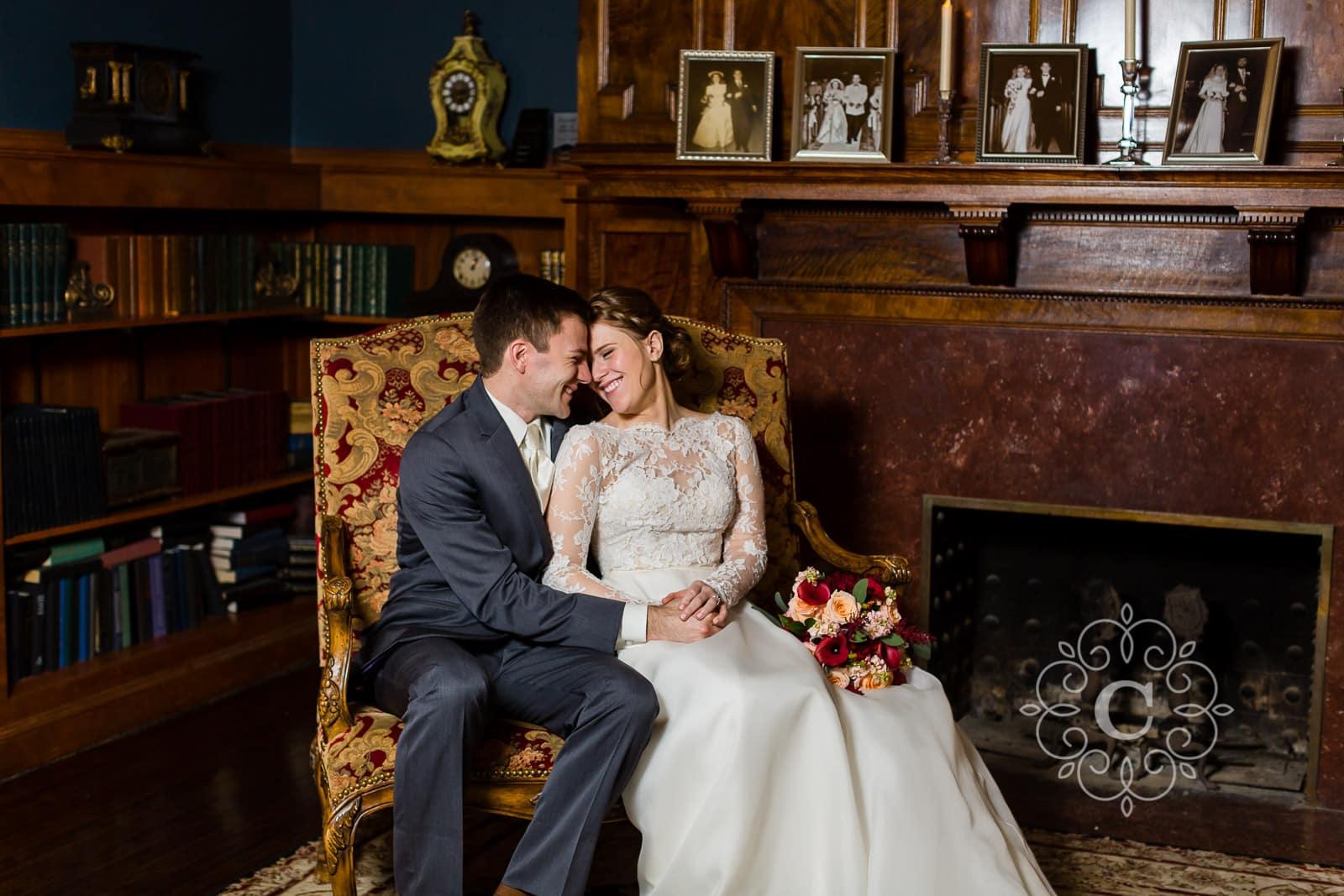 Semple Mansion MN Wedding Photo