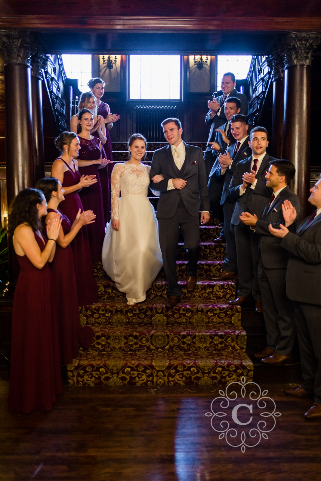 Semple Mansion MN Wedding Photo