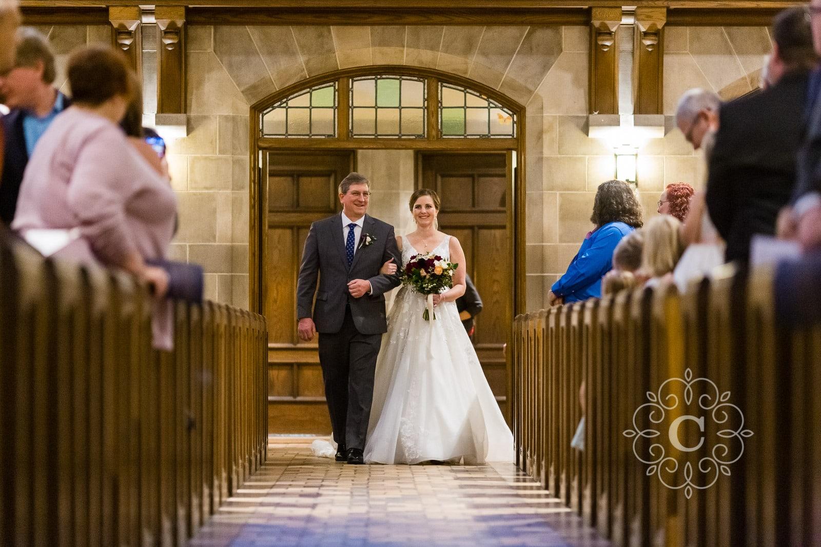 Hamline Church United Methodist Wedding Photo