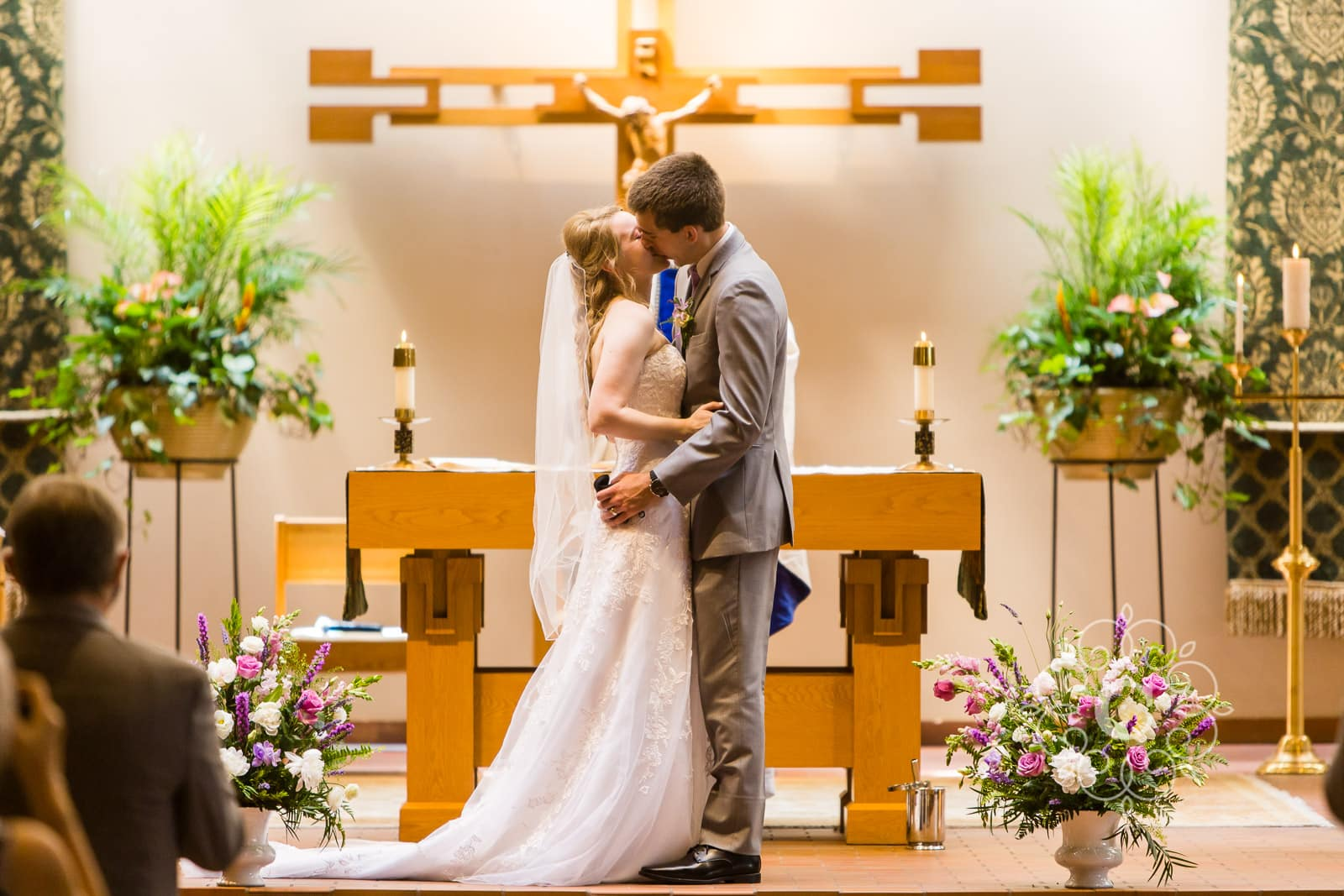 Catholic Church Wayzata MN Wedding Photos