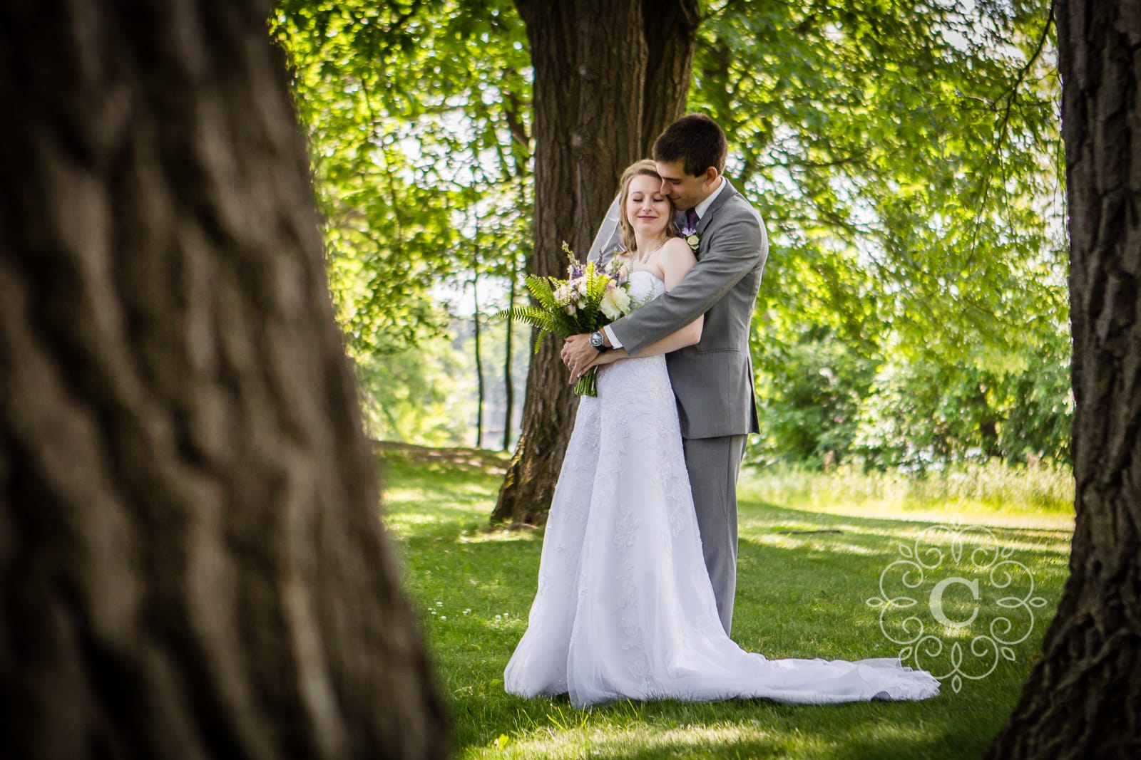 Silverwood Park St Anthony MN Wedding Photos