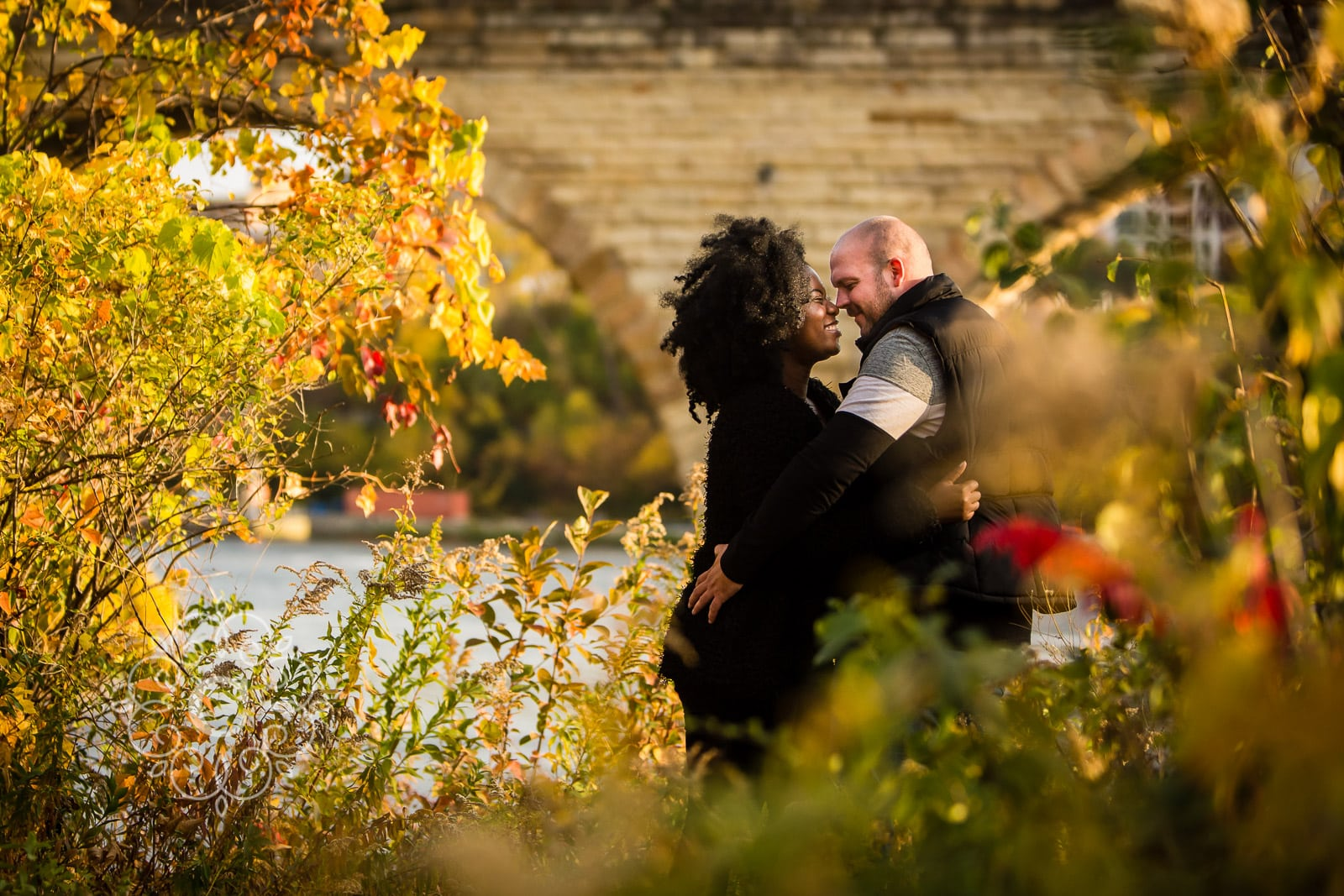 Father Hennepin Bluffs Park engagement