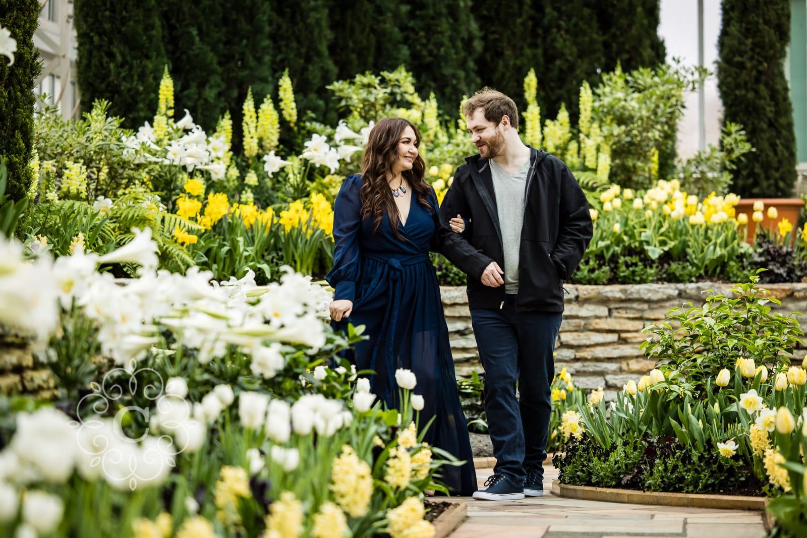 Como Park Engagement Photos