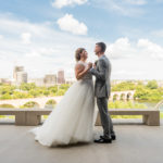 Mill City Museum Guthrie Theater Wedding Stone Arch