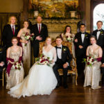 Semple Mansion Fireplace Wedding Photo