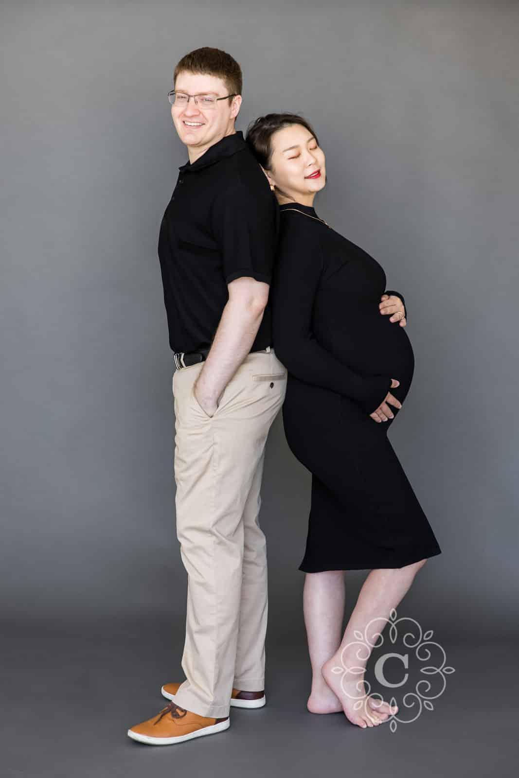 High Fashion Asian Maternity Photography