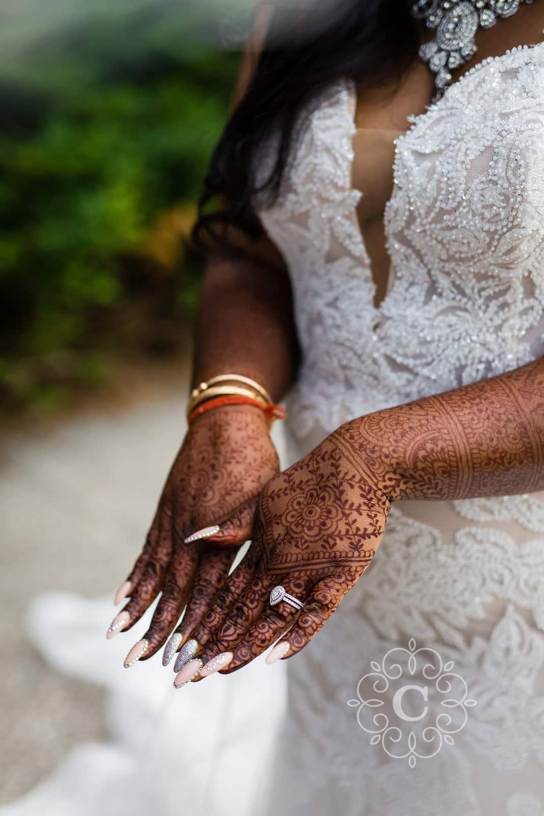 Indian Hindu Wedding Reception Photo