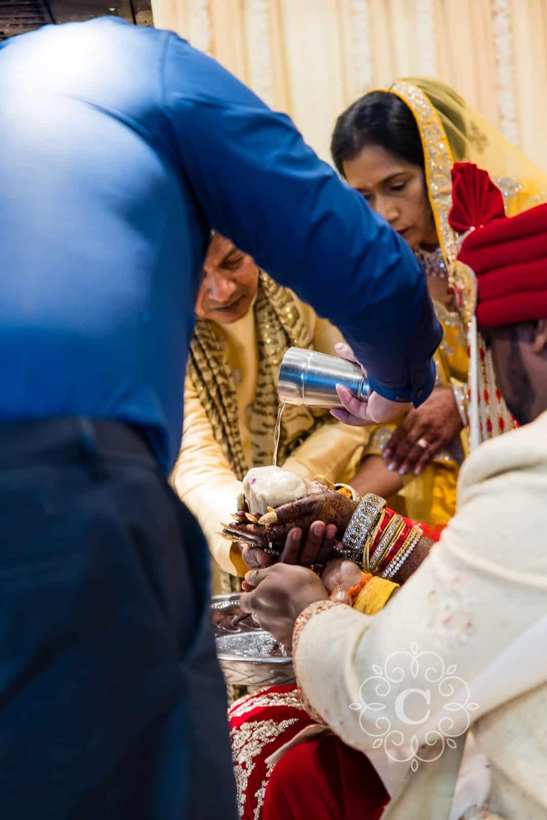 Indian Wedding Vishnu Mandir Photography