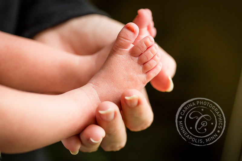 Minneapolis Photographer Baby Toes