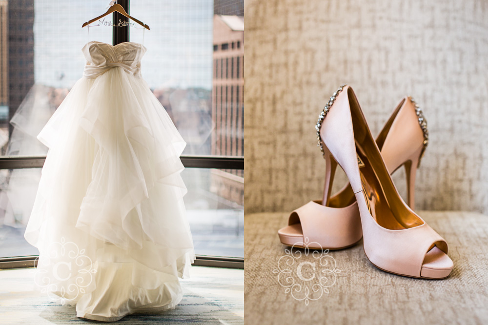 Aria Minneapolis Wedding Photo
