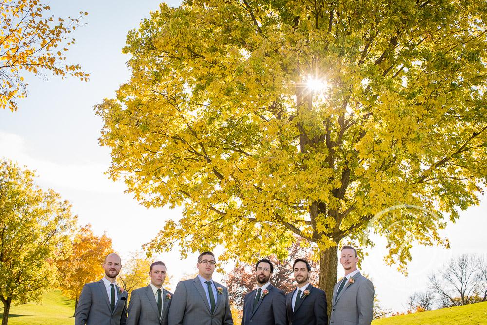 Columbia Golf Course Minneapolis MN Wedding Photo