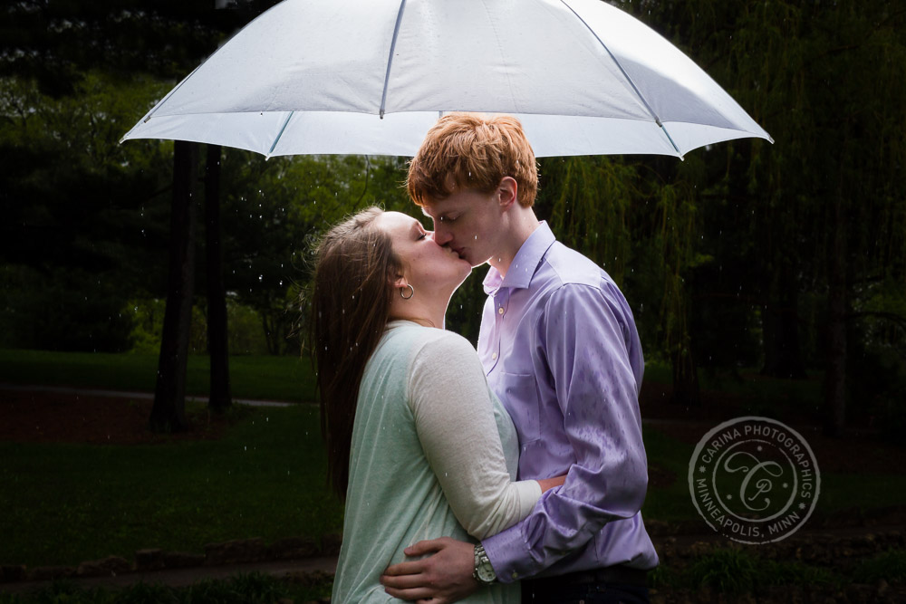 Como Park Conservatory Engagement Photography