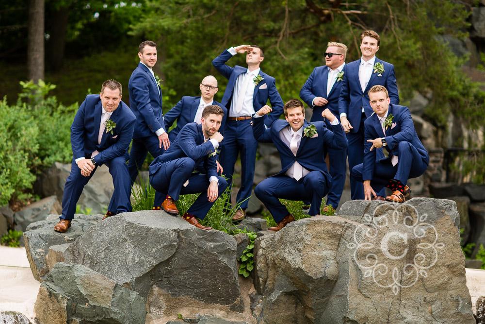Como Park St Paul MN Wedding Photo