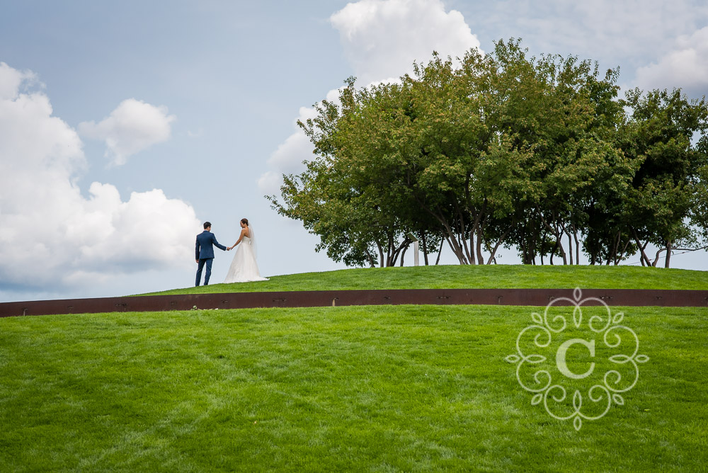 Gold Medal Park Minneapolis Wedding Photo