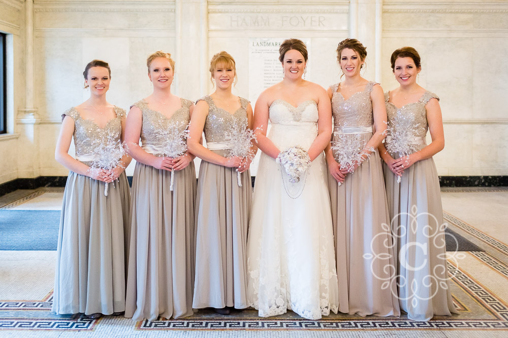 Landmark Center St Paul Wedding Photo