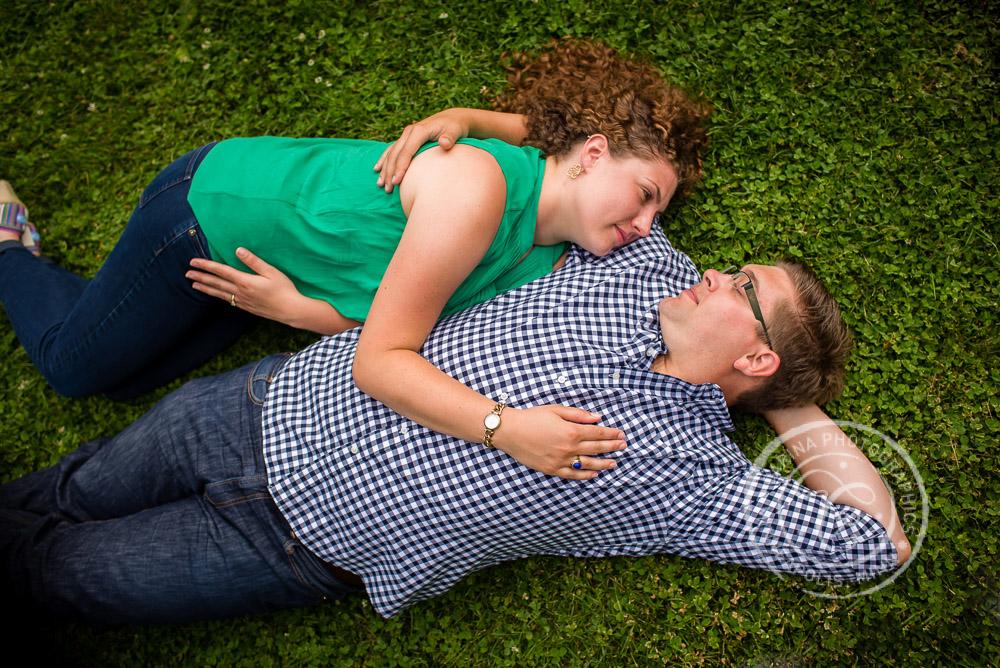 Lyndale Park Peace Garden Minneapolis MN Engagement Photo