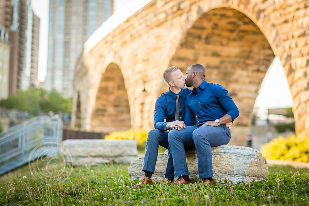 Mill Ruins Park Minneapolis Engagement Session