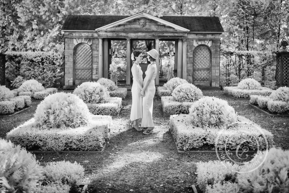 Minneapolis MN Infrared Wedding Photography