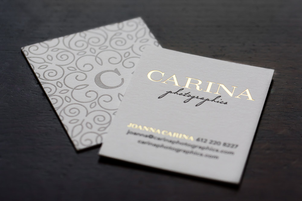 Minneapolis Wedding Photographer's Business Cards