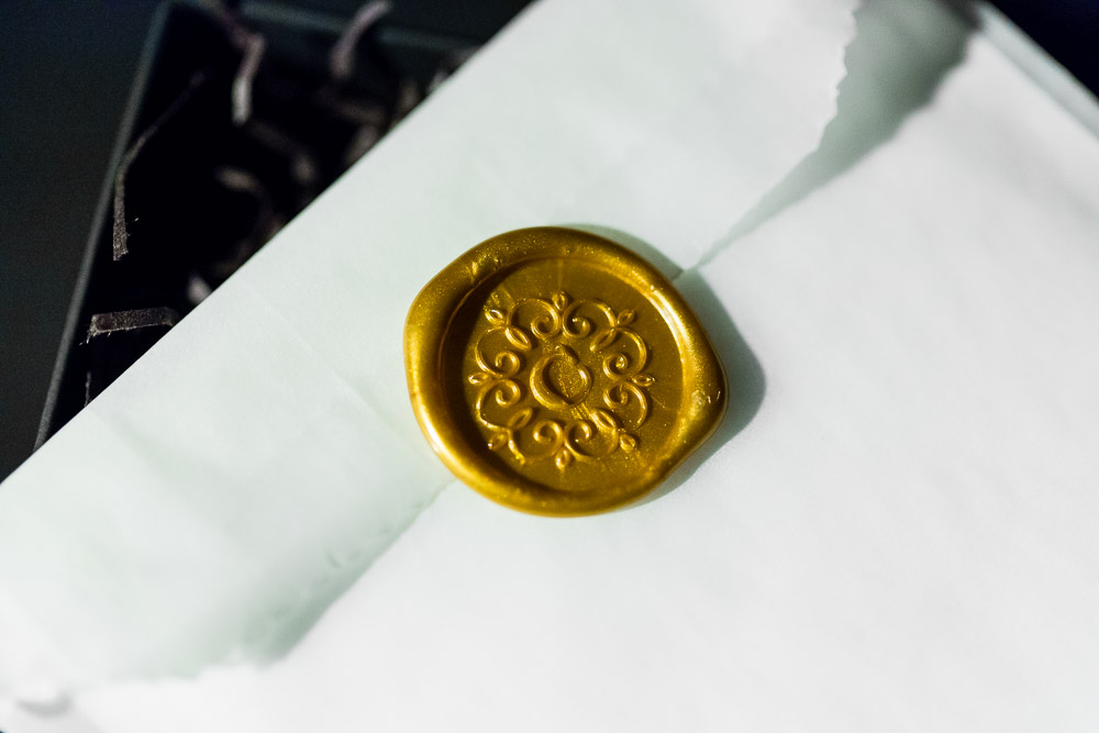 Minneapolis Wedding Photographer's Wax Seal