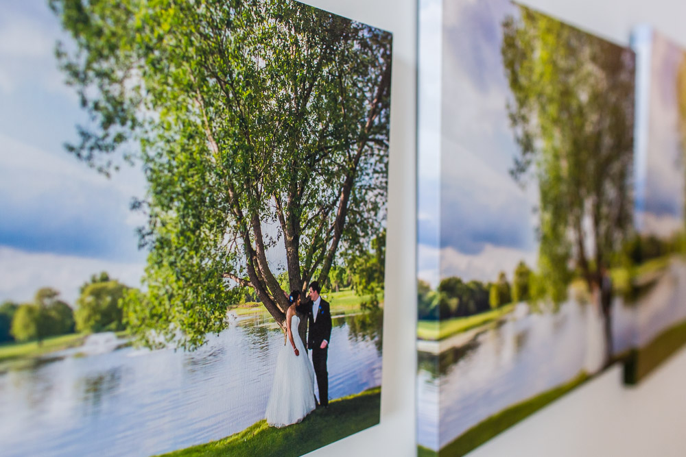 Minneapolis Wedding Photography Gallery Wrap Canvas