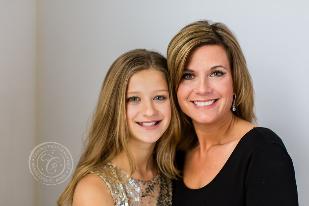Minneapolis Mother Daughter Portrait Photo