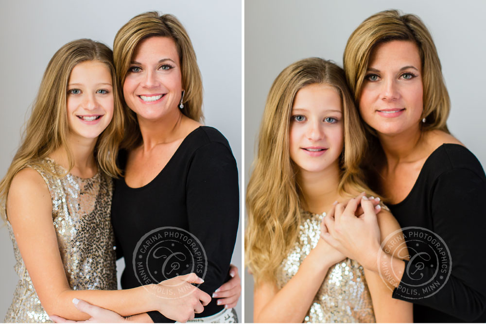 Minneapolis Mother Daughter Portrait Photo