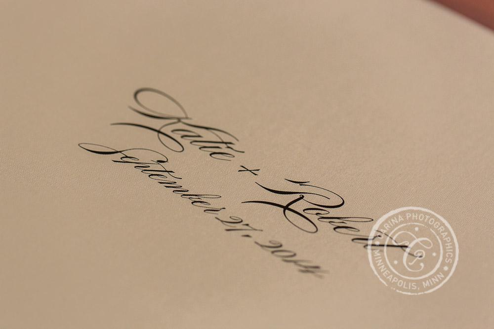 Minneapolis Wedding Photography Albums 15